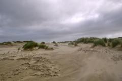 Strandlandschaft vor der Tür